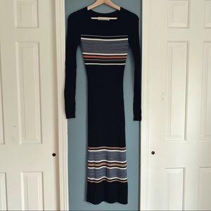 🆕 {{a&f}} Long Rib Knit Dress